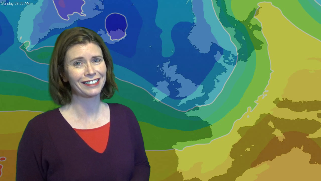 Jo Farrow: Mild, wet and windy for now, cold returning for the weekend