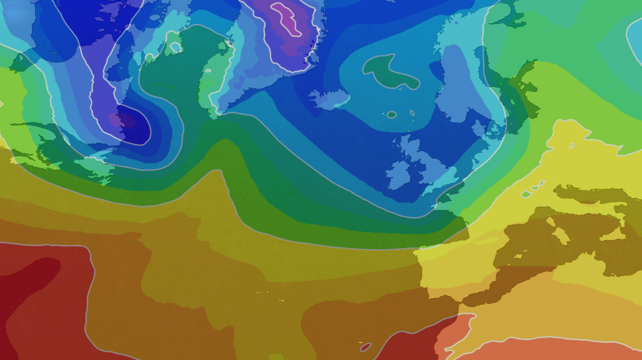 Rain and wind easing, cold and wintry few days coming up