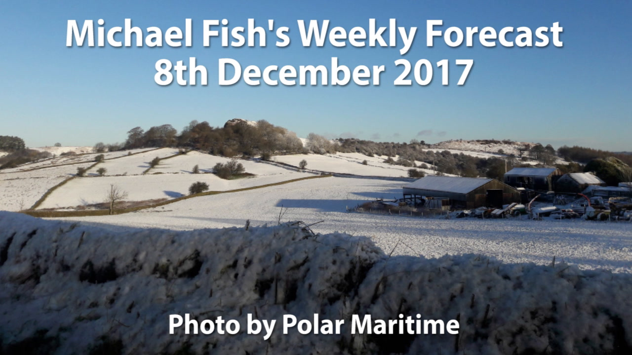 Michael Fish: Wintry Weekend And Staying Cold Into Next Week