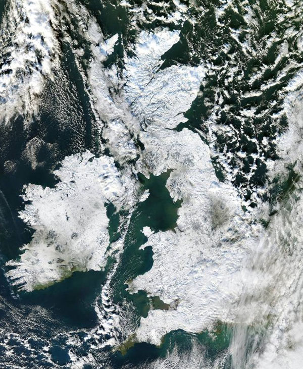 Look Back At December 2010 - The Coldest In 100 Years