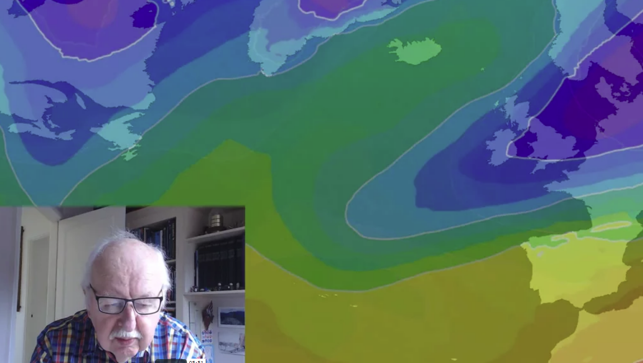 Michael Fish: Beware The Beast - Bitter Cold And Snow On The Way