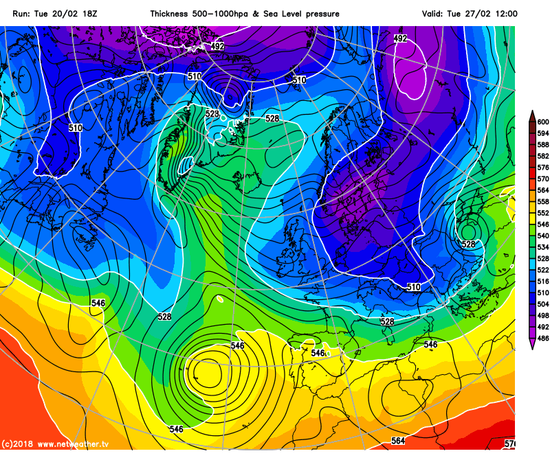 Cold air next week