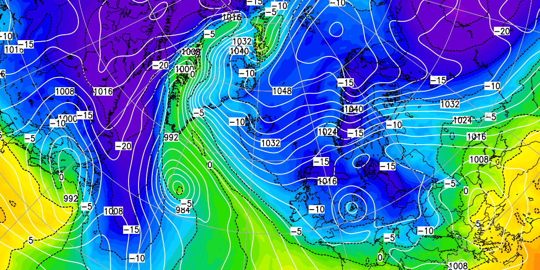 Double Digit Temperatures Today, But UK Heading Into The Freezer Soon?
