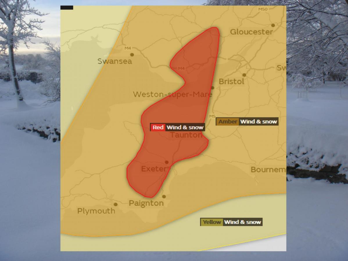 Take Action SW England and Wales, SnowStorm Emma brings winter havoc