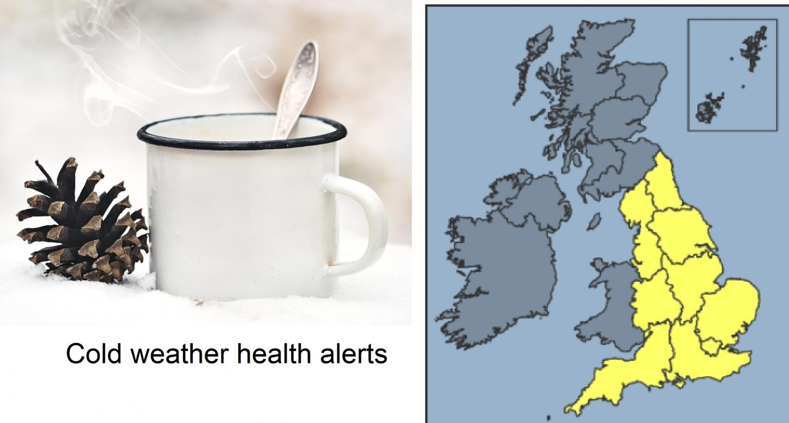 Cold weather Health alerts and Cold weather payments