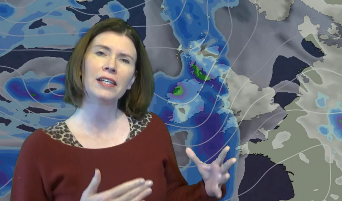Jo Farrow: Milder For A Short While But Colder Air Lurking