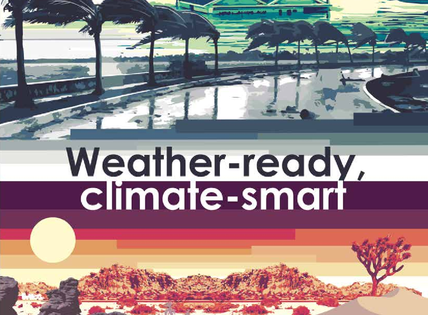 Weather Ready Climate Smart  - World Meteorological Day 2018