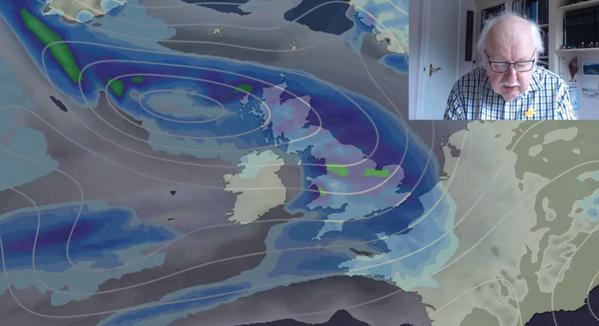 Michael Fish: Week Ahead Forecast - Chilly, Unsettled Run Up To Easter