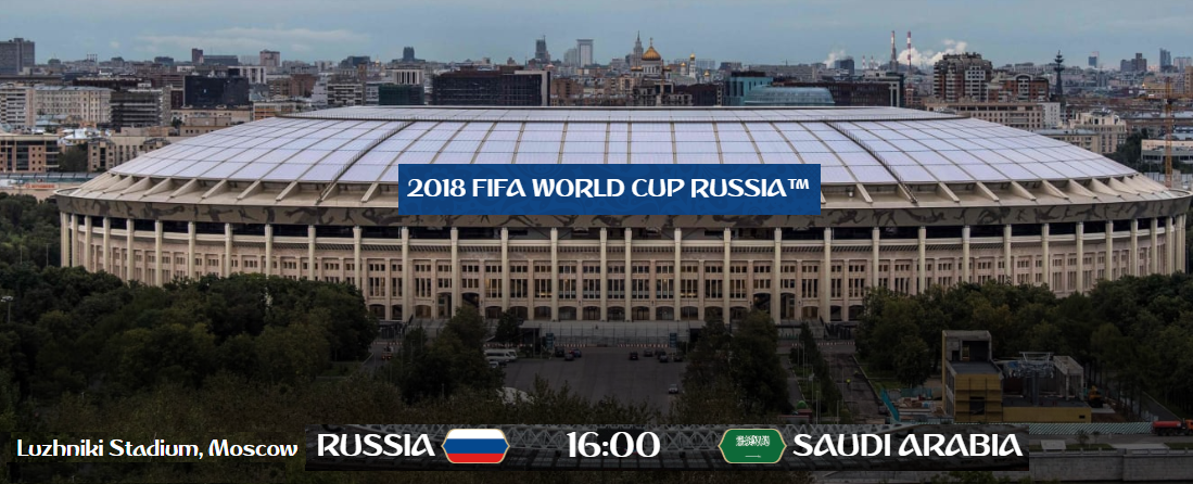 World Cup Football weather Russia 2018