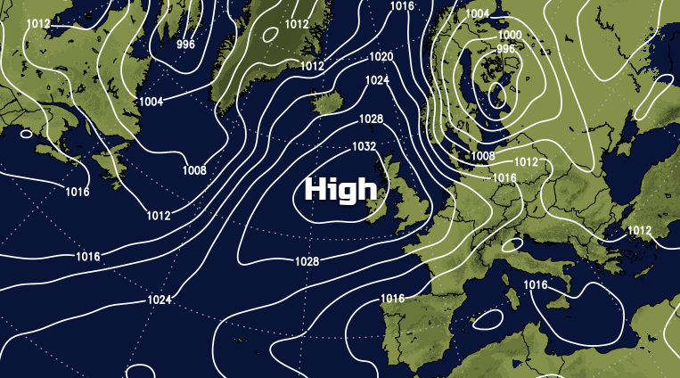 Weather This Week: High Pressure Back In Play But Not Countrywide Until Later