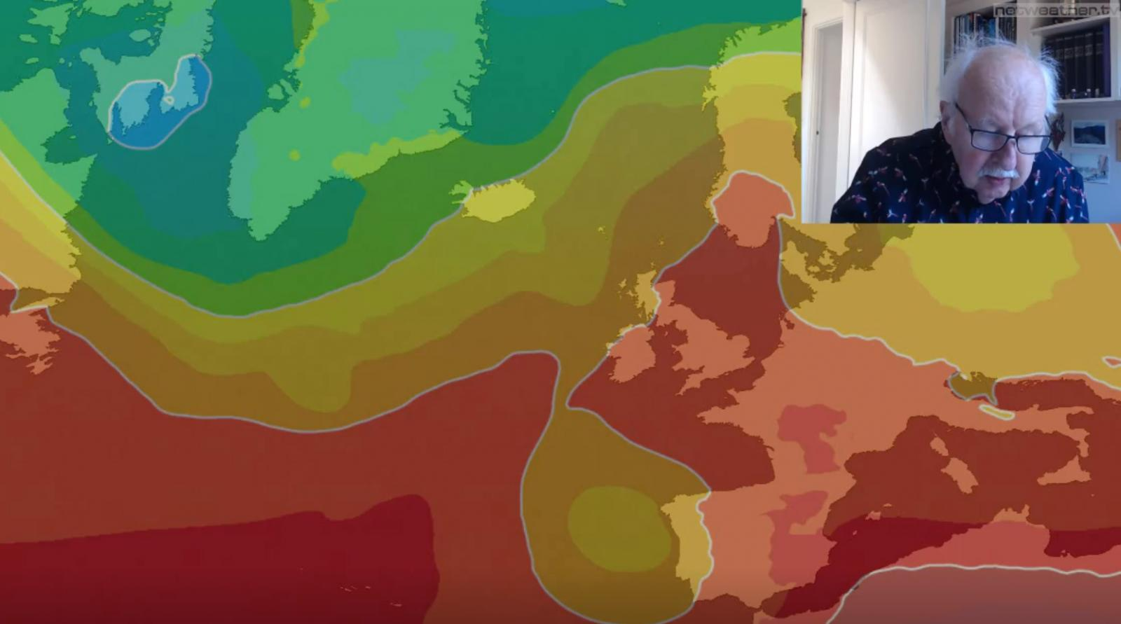 Michael Fish: Heatwave On The Way