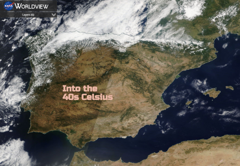 Portugal and Spain - Iberian Heat, into the 40s C