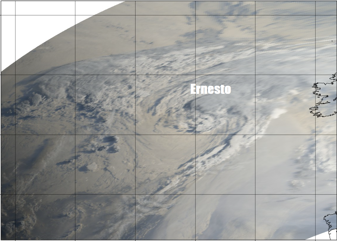 Weekend: Often Cloudy, Humid, Ex-Tropical Storm Ernesto Rain For The North