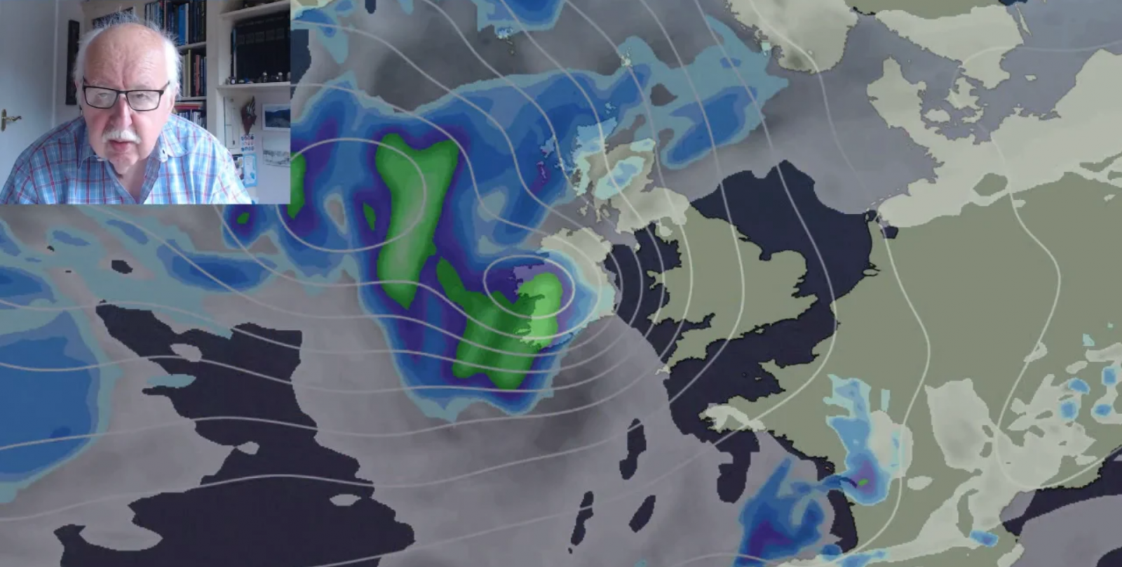 Michael Fish: Ex-Hurricane Helene On The Way Next Week