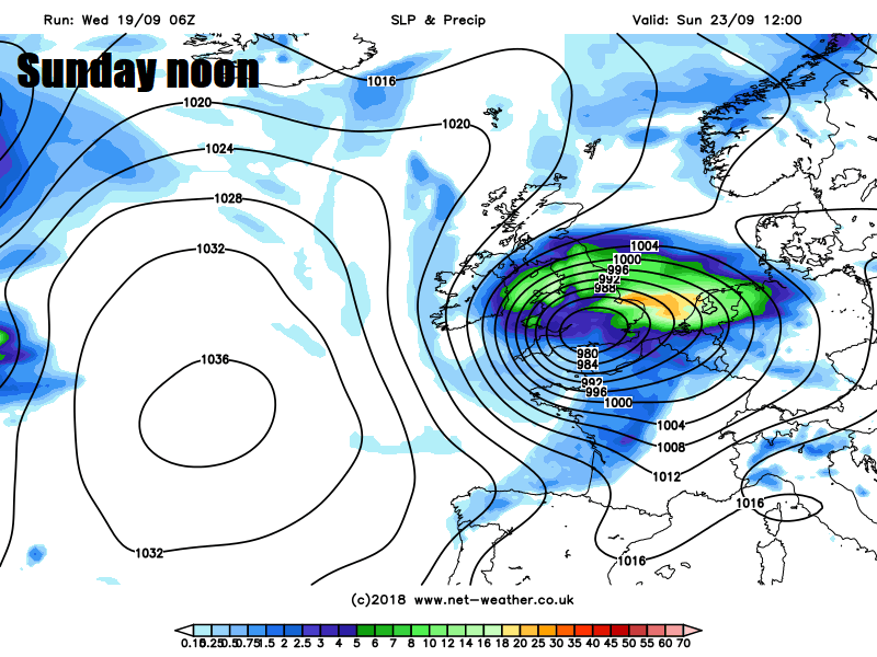 UK Stormy Weather Ahead: Ali Today, Wind & Rain Thursday, Then More On Sunday
