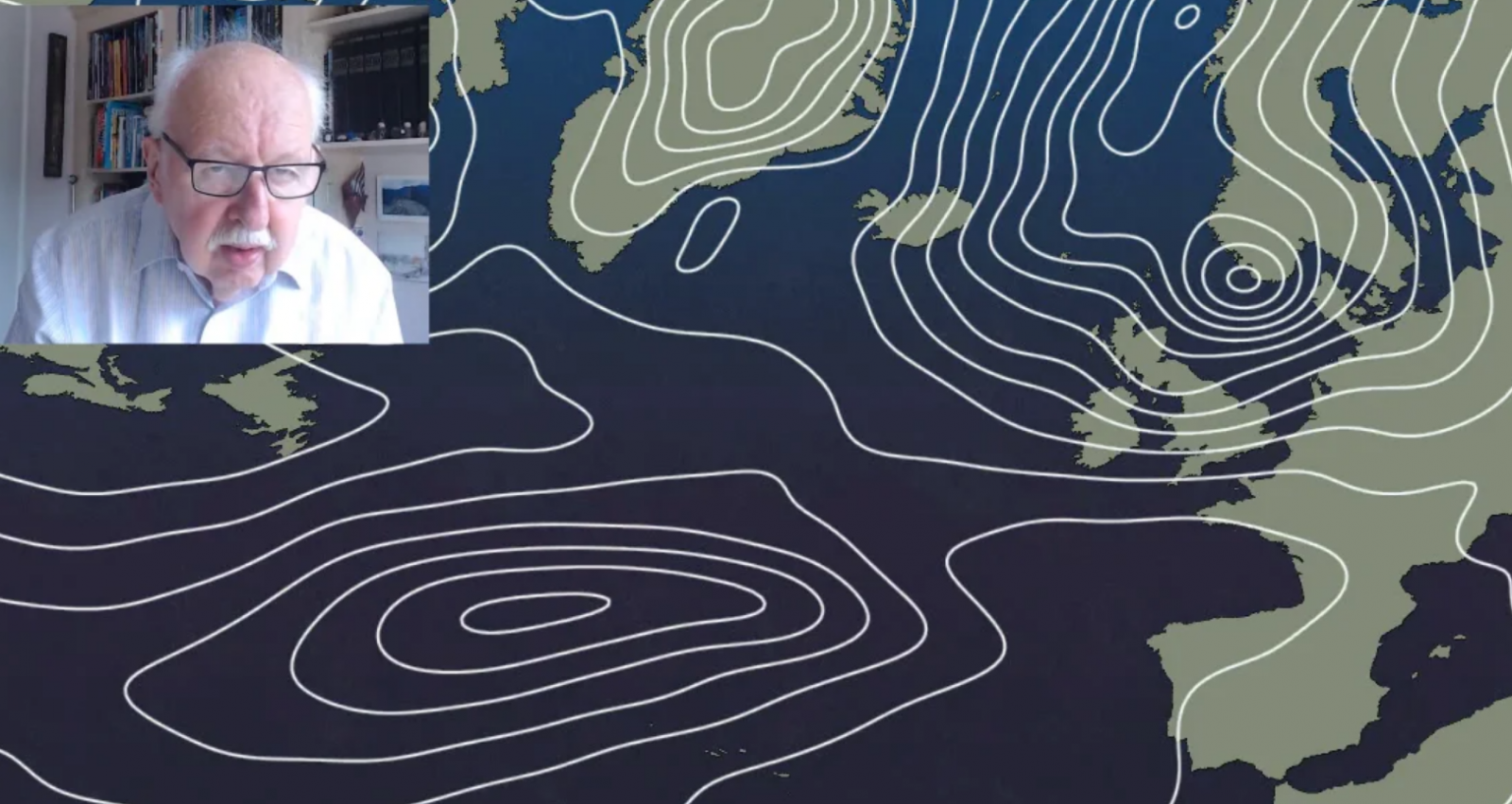 Michael Fish: Golden Wedding Anniversary But Not Such Golden Weather Until Next Week