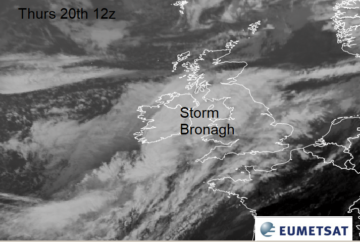 Next up Storm Bronagh. Squally winds, more rain and gusts. Friday morning travel worries