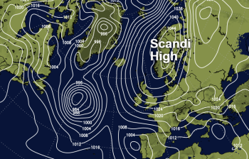 Cold Easterly Winds Arrive As The Scandi High Builds This Weekend