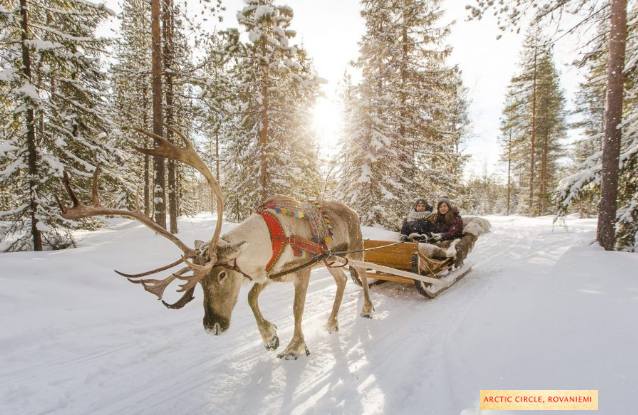 No snow in Lapland, what will Santa do and those people visiting next week?
