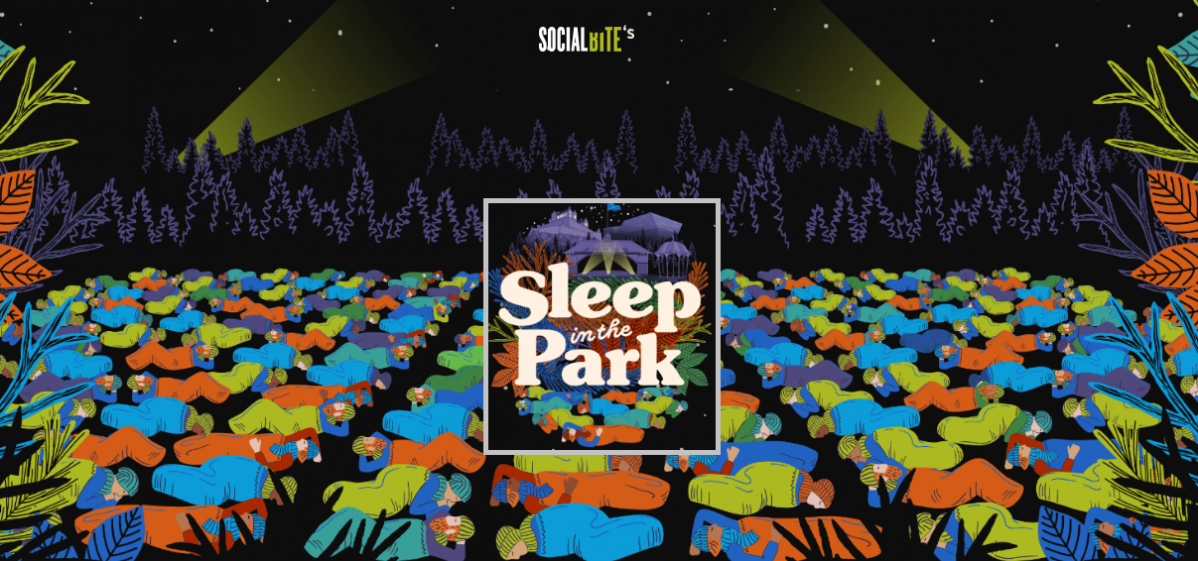 Sleep in the Park WEATHER 8th Dec 2018 Social Bite event