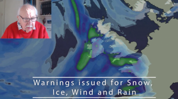 Michael Fish: Snow, Ice, Wind And Rain This Weekend, Then A Mixed Week