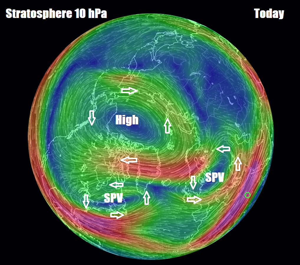 Latest On Sudden Stratospheric Warming & How It May Bring Much Colder Weather