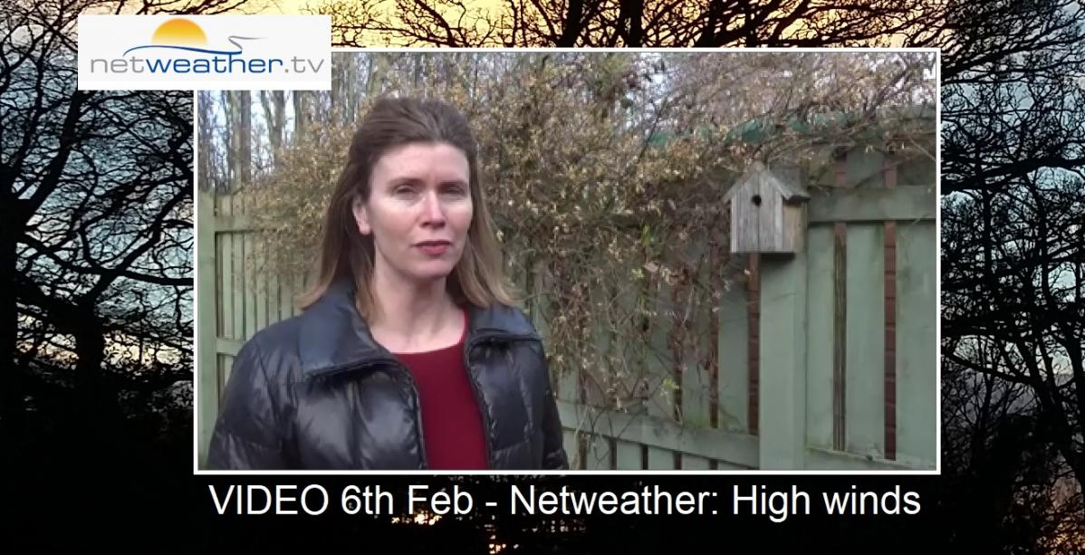 VIDEO - UK weather: Strong winds and high gusts