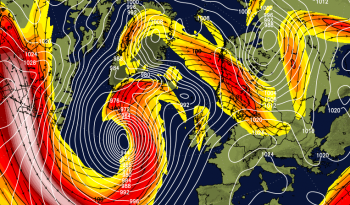 What a weather combo: Fierce jet stream, dartboard low and potentially record breaking warmth