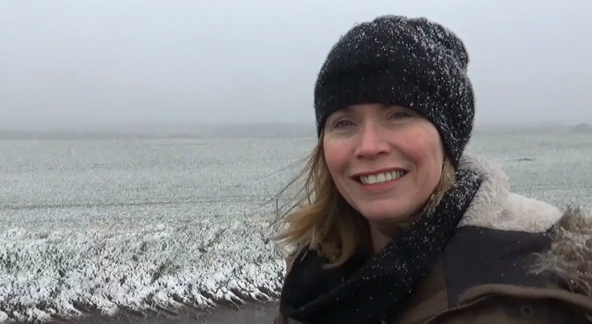 Wild, Wet, Wintry Weekend - Video with Jo Farrow