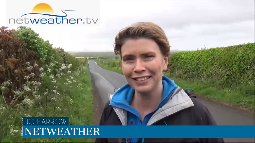 VIDEO: Midweek rain clears leaving a settled weekend. Warmer next week, finally!