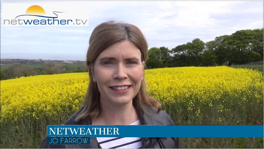 VIDEO: Warmth and dry weather under high pressure til easterly takes hold again