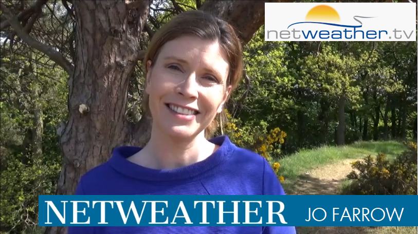 VIDEO: Mid May warmth and sunshine fading slightly ready for the weekend as showers appear