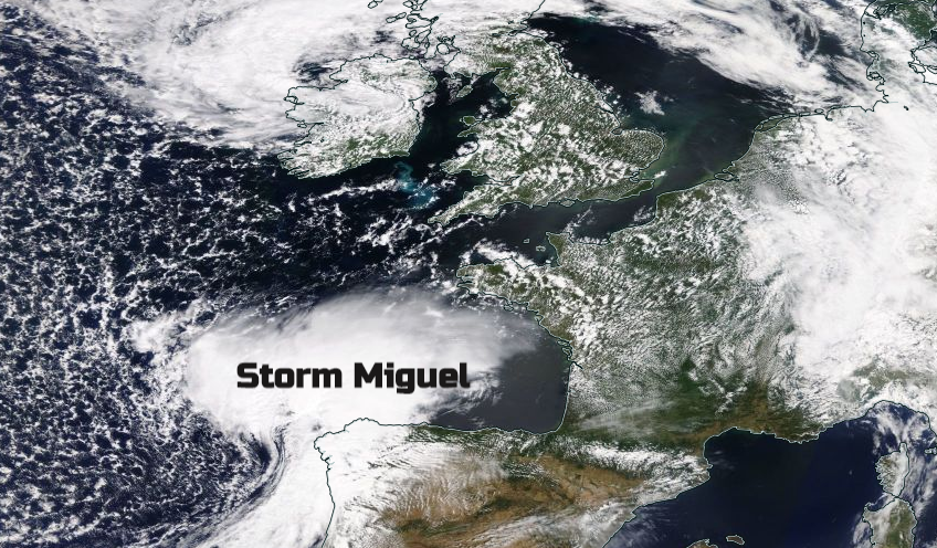 Hope for Gardeners: End of the week spell of rain and hefty showers as Miguel moves through.