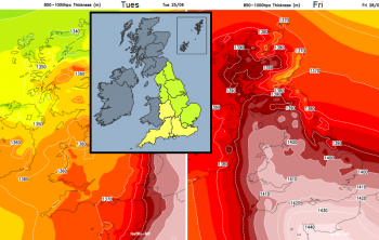 UK Weather - What is the Amber Heat Health warning? Level 3 of 4