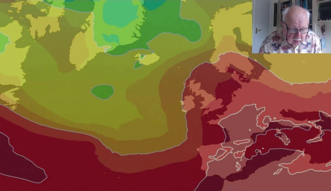 Michael Fish: Heat building and thunderstorms brewing next week