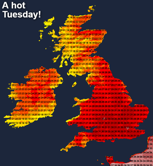 United Kingdom temperatures could soar to new highs as climate change fuels heatwaves