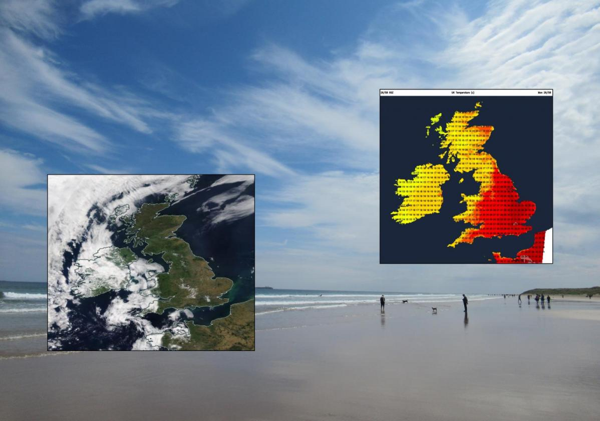 UK weather : Heat will slowly fade this week, after Hottest Bank Holiday on record