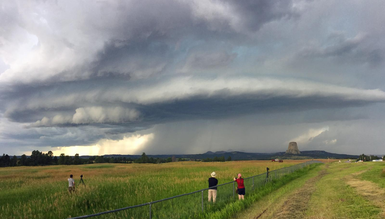Devils tower supercell