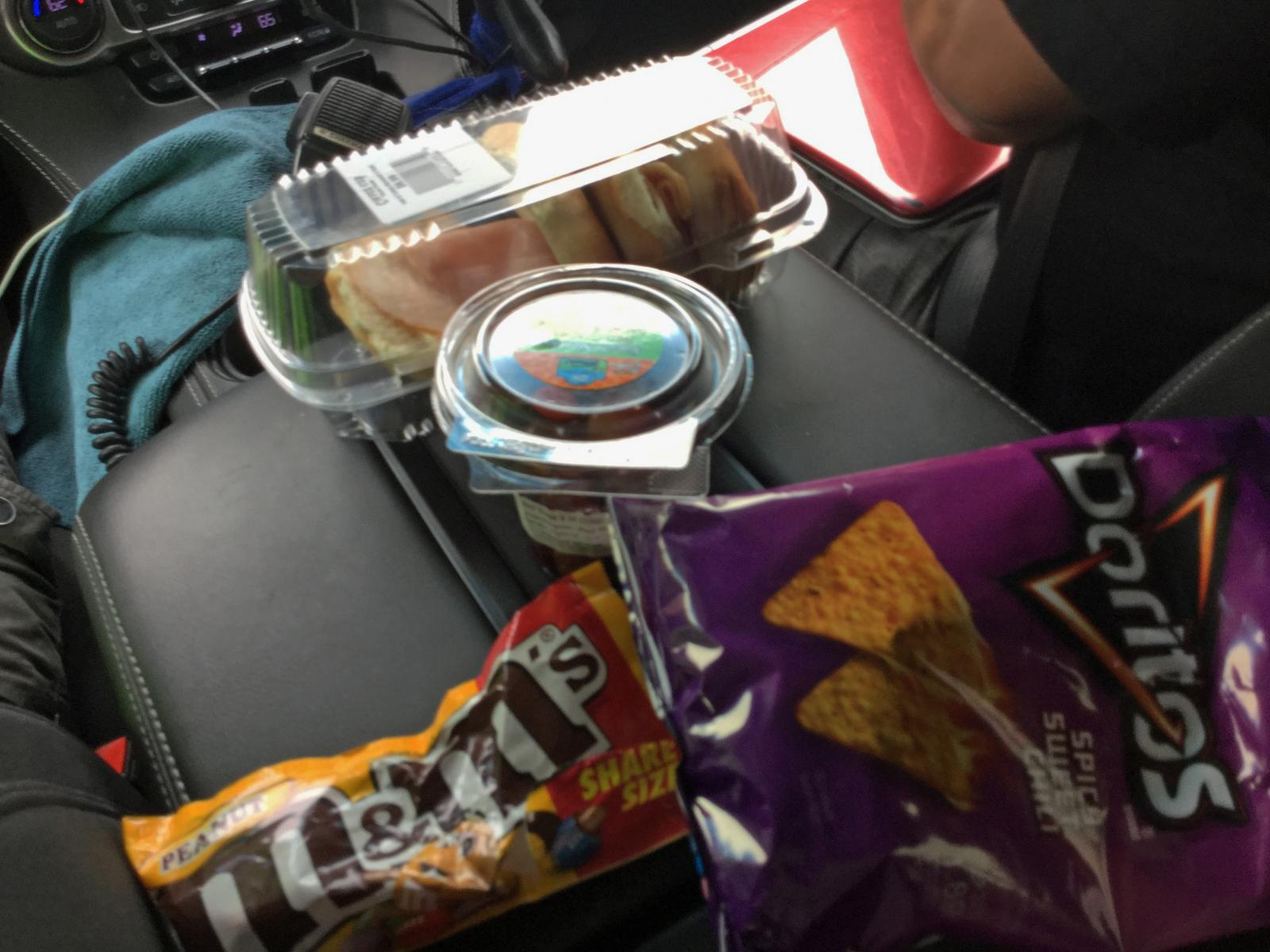 Storm chasing snacks