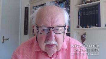 Michael Fish's Weekly Forecast - 13th September