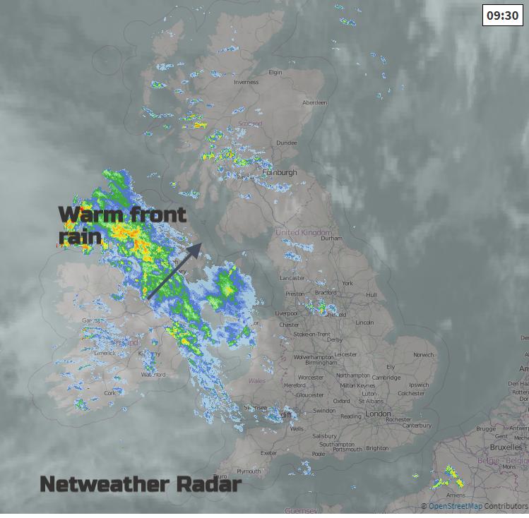 UK radar Netweather
