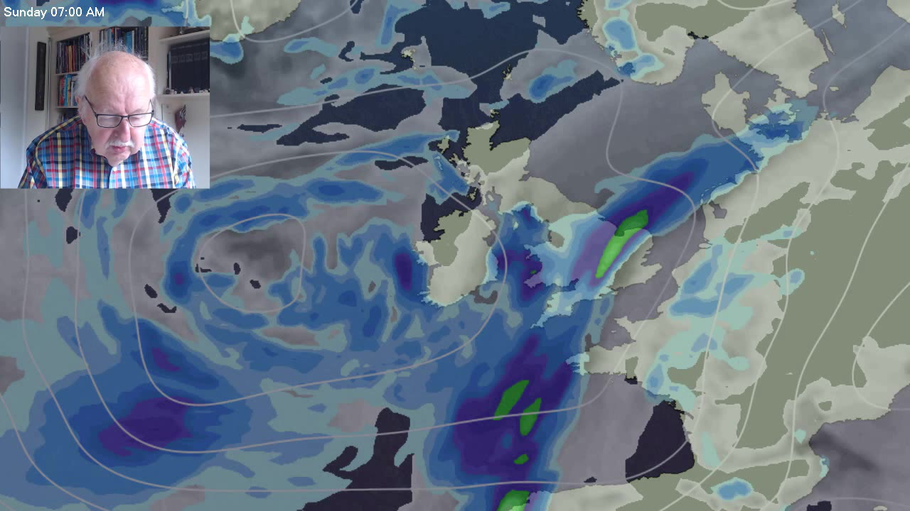 Michael Fish: Rain, rain and yet more rain