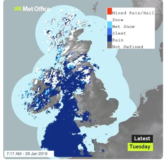 Met Office Dual Polarisation snow radar