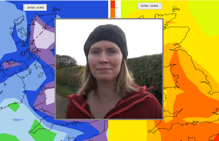 VIDEO: October into November UK outlook with a review of weekend flooding and bizarre Hurricane Pablo