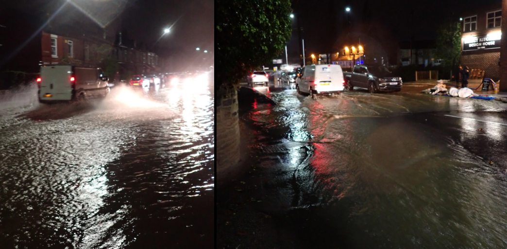 Ecclesfield flooding