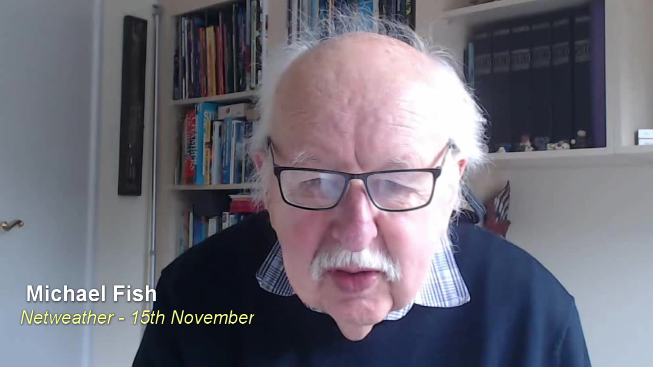 Michael Fish's Weekly Forecast: Staying chilly and unsettled