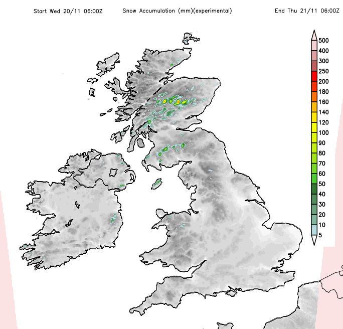 UK snow this week
