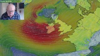 Michael Fish: Kitchen sink weather during the next seven days - including election day