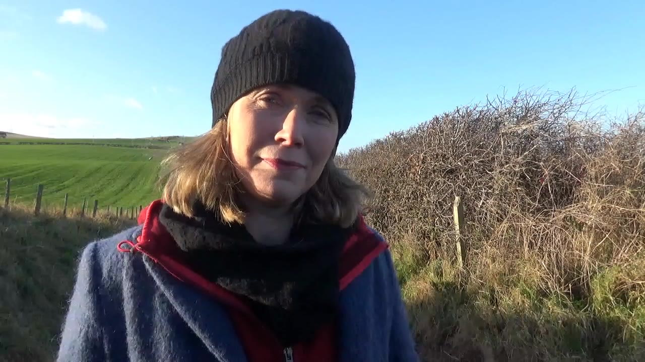 Jo Farrow: December continues in its wet and windy way, all very fast moving