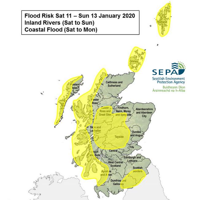 SEPA Scotland flood risk